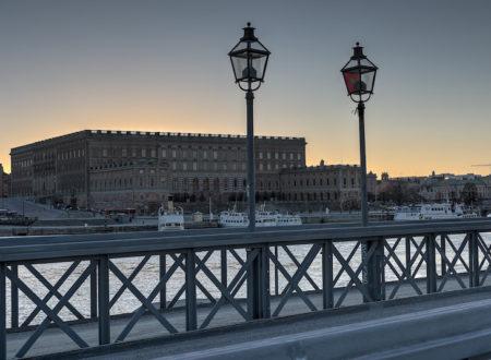 Stockholm královský palác