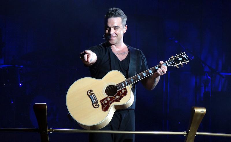 Robbie Williams a Erasure ve Stockholmu